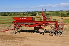 Graduador vermelho restaurado velho da estrada do caso Fotografia de Stock Royalty Free