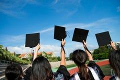 Graduados Imagen de archivo libre de regalías