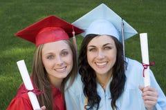Graduados foto de stock