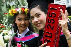 Graduados de la universidad Foto de archivo