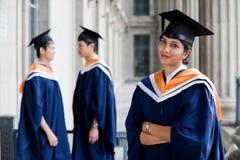 Graduados jovenes Imágenes de archivo libres de regalías