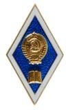 Graduate badge Royalty Free Stock Photos