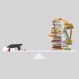Graduate balance vector illustration