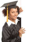 Graduate banner Royalty Free Stock Photo