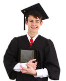 Graduate with a book Royalty Free Stock Image