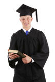 Graduate with a book Stock Photos