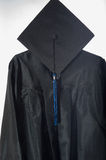 Graduate cap and gown Royalty Free Stock Photo