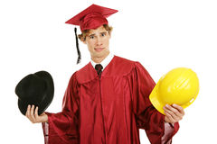 Free Graduate - Confused By Career Choices Royalty Free Stock Images - 4571509