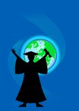 Graduate with diploma Royalty Free Stock Images