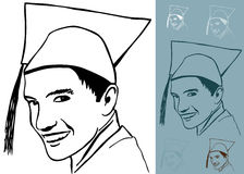 Graduate Drawing Stock Photography