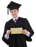 Graduate with an envelope Royalty Free Stock Images