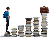 Graduate and find work Stock Image
