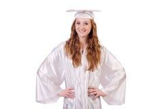 Graduate girl Royalty Free Stock Photos