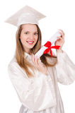 Graduate girl Royalty Free Stock Images