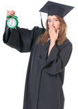 Graduate girl student Royalty Free Stock Photography