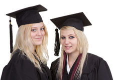 Graduate girls Royalty Free Stock Photo