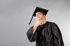 Graduate Holding Dog Stock Photography