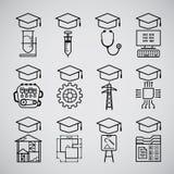 Graduate icon Stock Photography