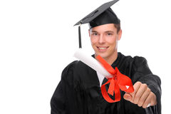 Graduate man Royalty Free Stock Image
