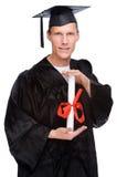 graduate man Στοκ εικόνες με δικαίωμα ελεύθερης χρήσης