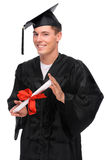 Graduate man Stock Images