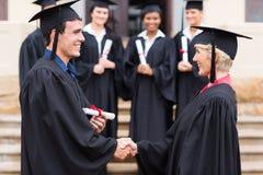 Graduate Professor Royalty Free Stock Photography