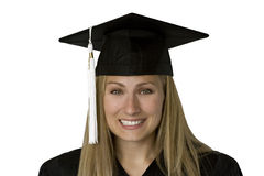 Graduate Scholar (With Path) Stock Images