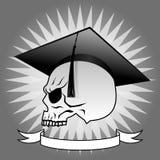 Graduate skull profile Stock Image