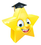 Graduate Star Emoji Emoticon Stock Images