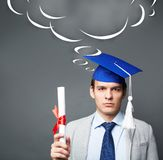 Graduate student Stock Photos