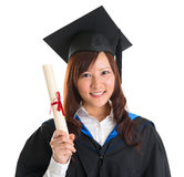 Graduate student Royalty Free Stock Photo