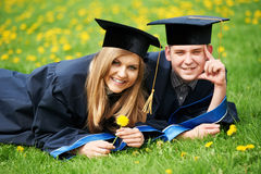 Graduate students Stock Image
