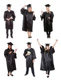 Graduate students Royalty Free Stock Photos