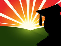 Graduate Sunrise Royalty Free Stock Image