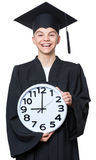Graduate teen boy student Royalty Free Stock Photography