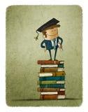 Graduate from a university Stock Photo