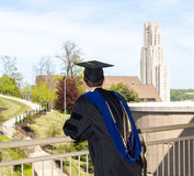 Graduate of UPitt in Pittsburgh Stock Images