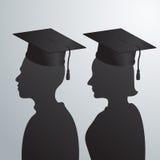 Graduate vector Stock Image