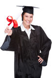 Graduate woman Stock Images