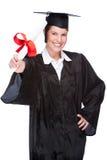 Graduate woman Stock Images