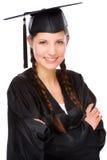 Graduate woman Royalty Free Stock Photography