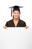 Graduate woman Royalty Free Stock Photo