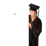 Graduate woman Royalty Free Stock Images
