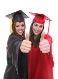 Graduate Women Friends Stock Image
