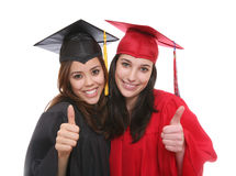 Graduate Women Friends Stock Photos