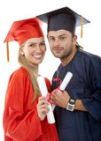 Graduated couple Royalty Free Stock Photos