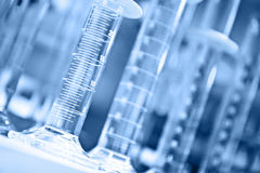 Free Graduated Cylinders Royalty Free Stock Image - 8452196