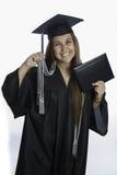 Graduated Magma Cum Laude Royalty Free Stock Photos