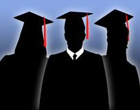 Graduates Royalty Free Stock Photo