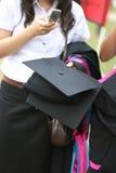 Graduates stock photography